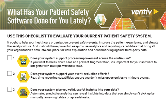 Patient Safety Checklist